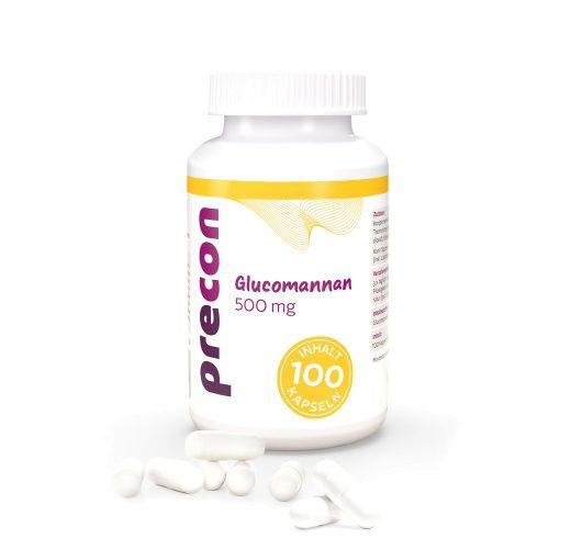 Gélules de glucomannane 500