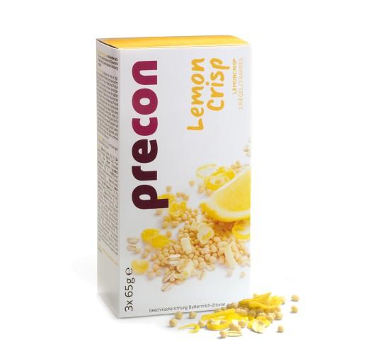 Barre de céréales au citron