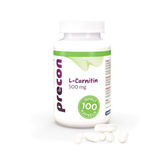 Gélules de L-carnitine 500